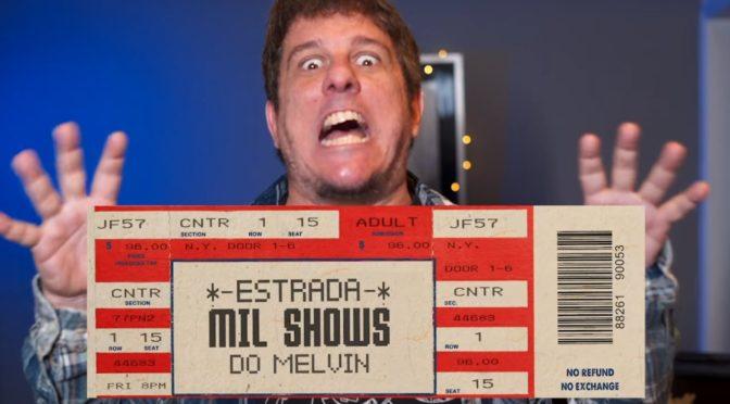 Livro Mil Shows do Melvin.